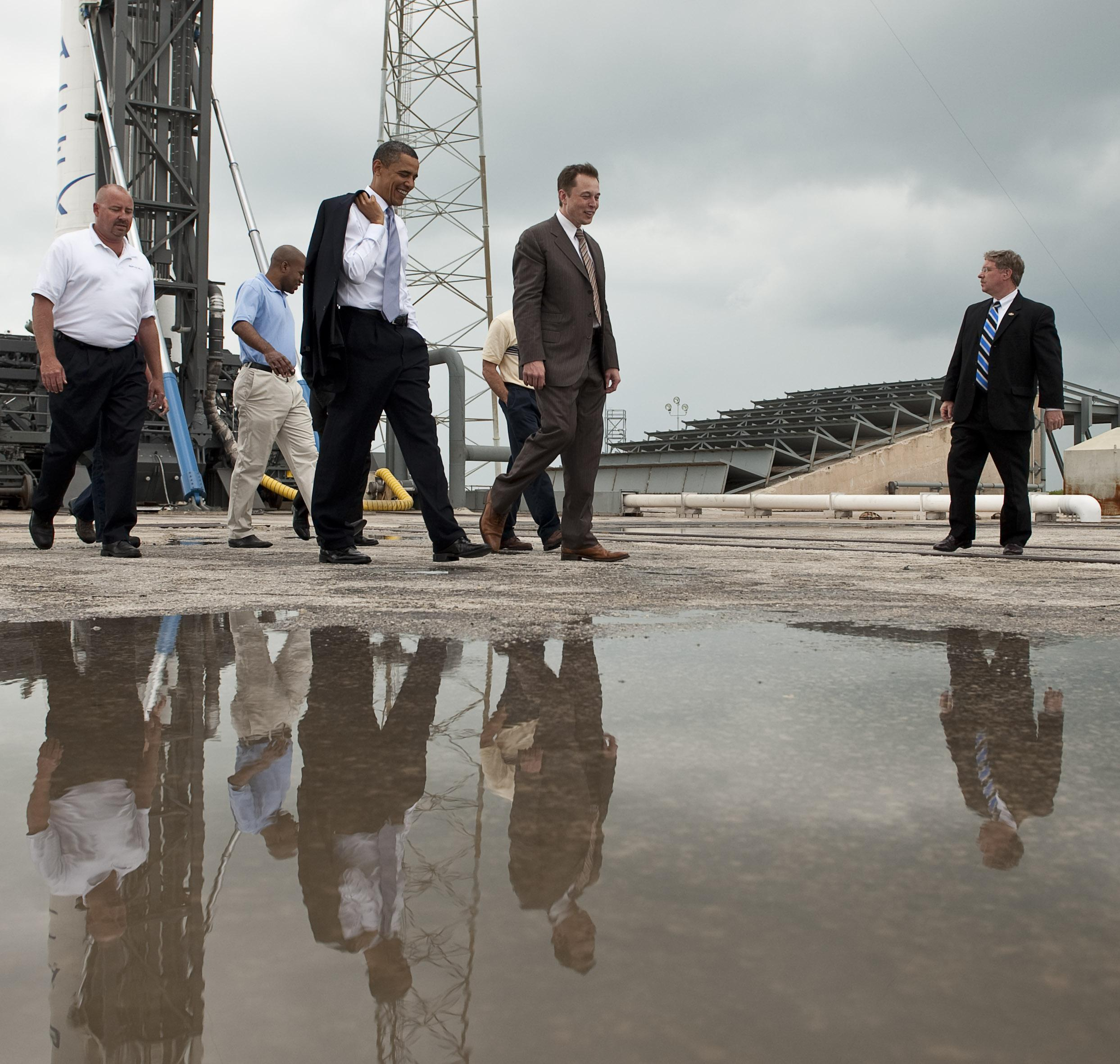 NASA President Tours SpaceX Facility - Cape canaveral tours