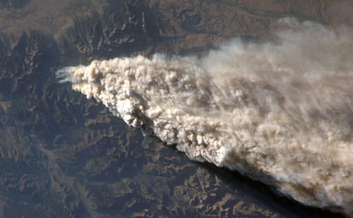 image of a wildfire.