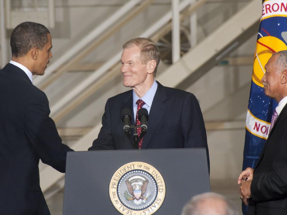 president who created nasa - photo #29