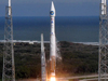 An Atlas V lifts off with SDO