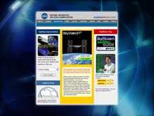 Human Spaceflight Website Sighting Opportunities