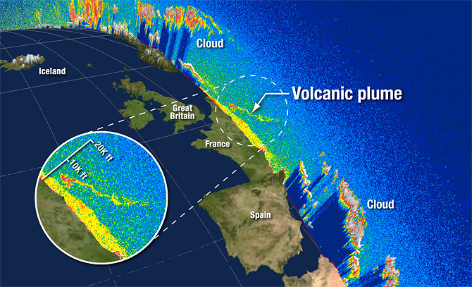 CALIPSO observes Iceland volcano plume over northern Europe