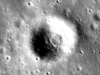 Dante Crater on the Moon