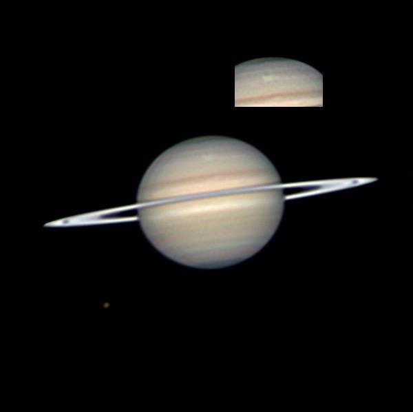Amateur astronomy saturn brilliant
