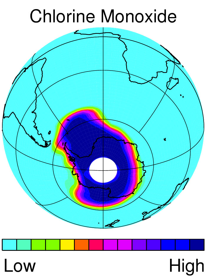 a research on the ozone of the earth Good ozone is 10-30 miles above earth's surface while bad the primary nih organization for research on ozone is the.