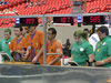 Students complete at the FIRST Robotics Championships