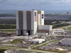 Aerial view of Kennedy Space Center