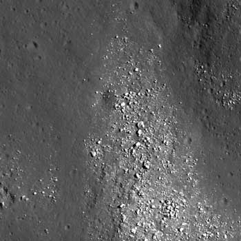 LRO image of Tsiolkovskiy Crater