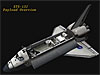 Animation of the space shuttle
