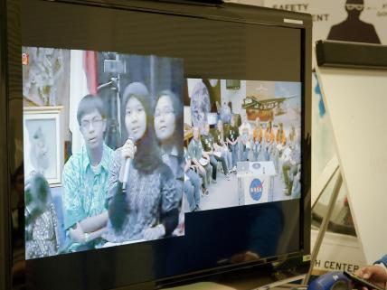 American, Indonesian Students Link Hands Via Distance Learning