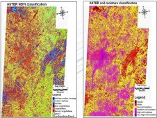 ASTER Vegetation and Soil Moisture