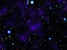 Primitive cluster of galaxies