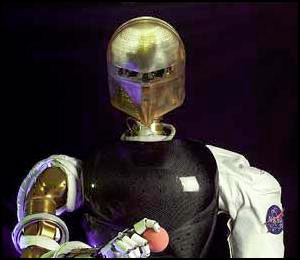 humanoid robot designed by NASA's Johnson Space Center in collaboration with DARPA