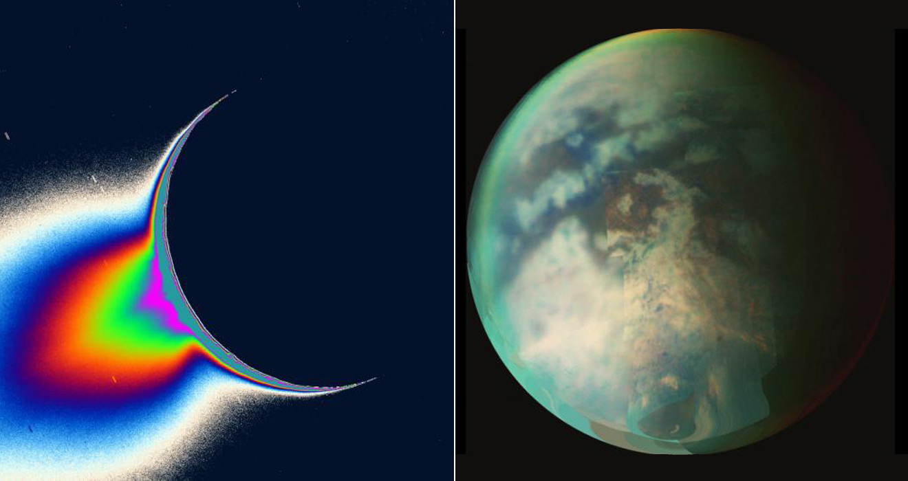 NASA - Cassini Double Play: Enceladus and Titan