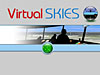 Virtual Skies logo showing an air traffic control room