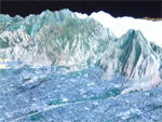 screen shot of 3D terrain video