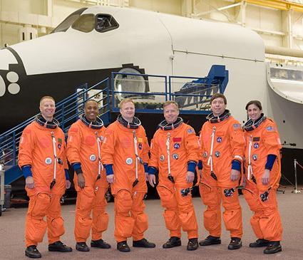 JSC2010-E-046394 -- STS-133 crew