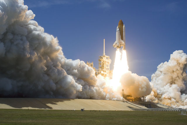 Launch of STS-132