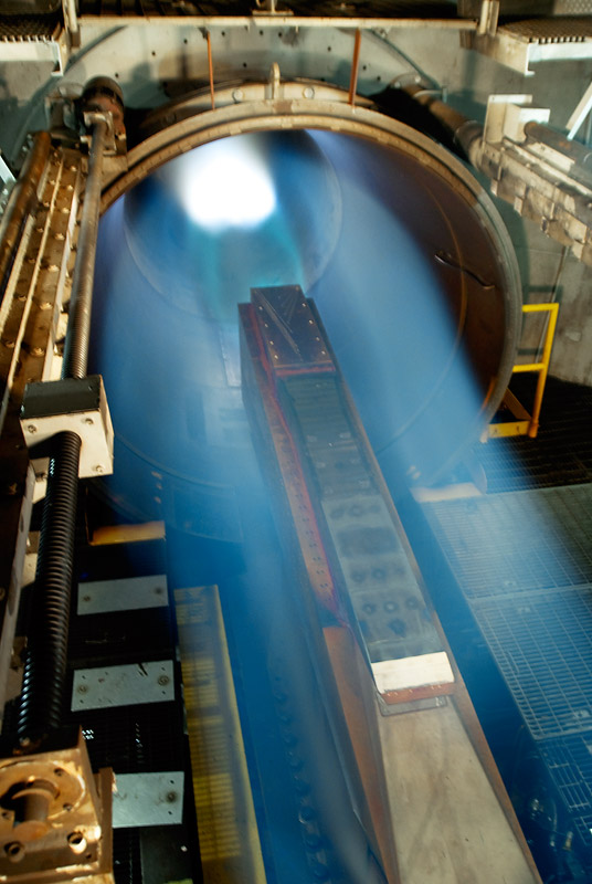 The SJX61-2 engine that powered the X-51A test vehicle successfully  completed ground tests simulating Mach 5 flight conditions at NASA's  Langley Research Center, Hampton, Va., in 2008