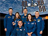 The six members of the Expedition 24 crew
