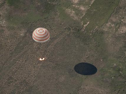 Expedition 23 Returns to Earth