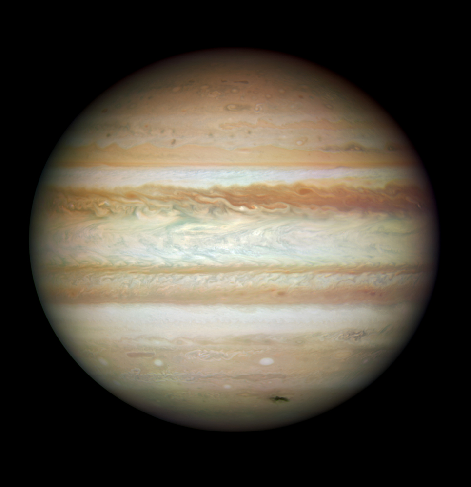hubble comet and jupiter - photo #19