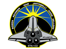 STS-132 mission patch