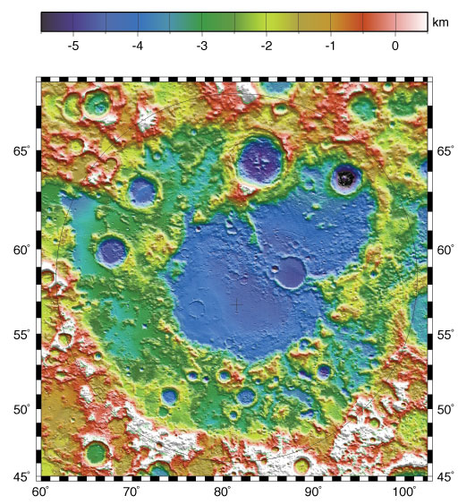 Located along the northeastern limb of the Moon Humboldtianum Basin is a region of interest for NASA.