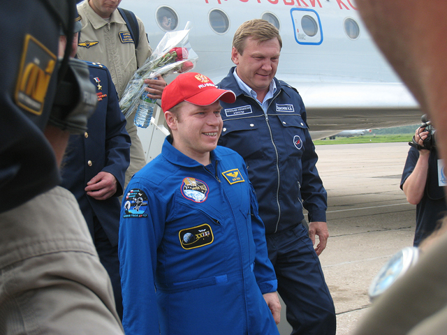 JSC2010-E-089968 -- Expedition 23 Commander Oleg Kotov