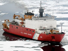 Healy Coast Guard Ship