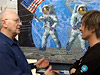 Alan Bean (L) and Johnny Alonso
