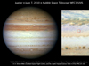 Hubble image of Jupiter's mysterious flash.