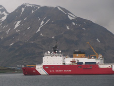 Coast Guard Ship in Dutch Harbour