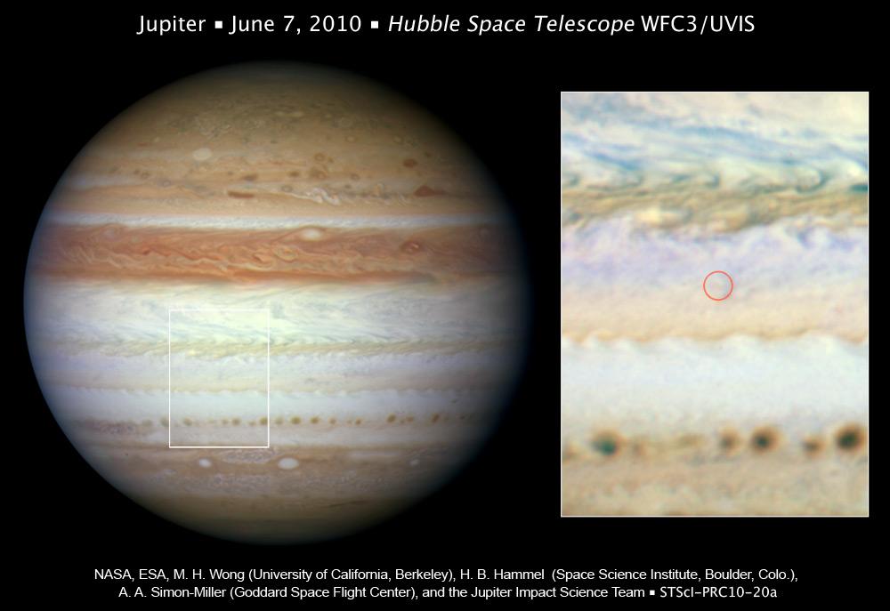 NASA - Mysterious Flash on Jupiter Left No Debris Cloud