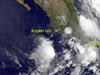 GOES-11 sees Tropical Depression 2E developing.