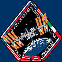 iss026-s-001 -- Expedition 26 crew patch