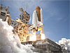 Launch of space shuttle Atlantis
