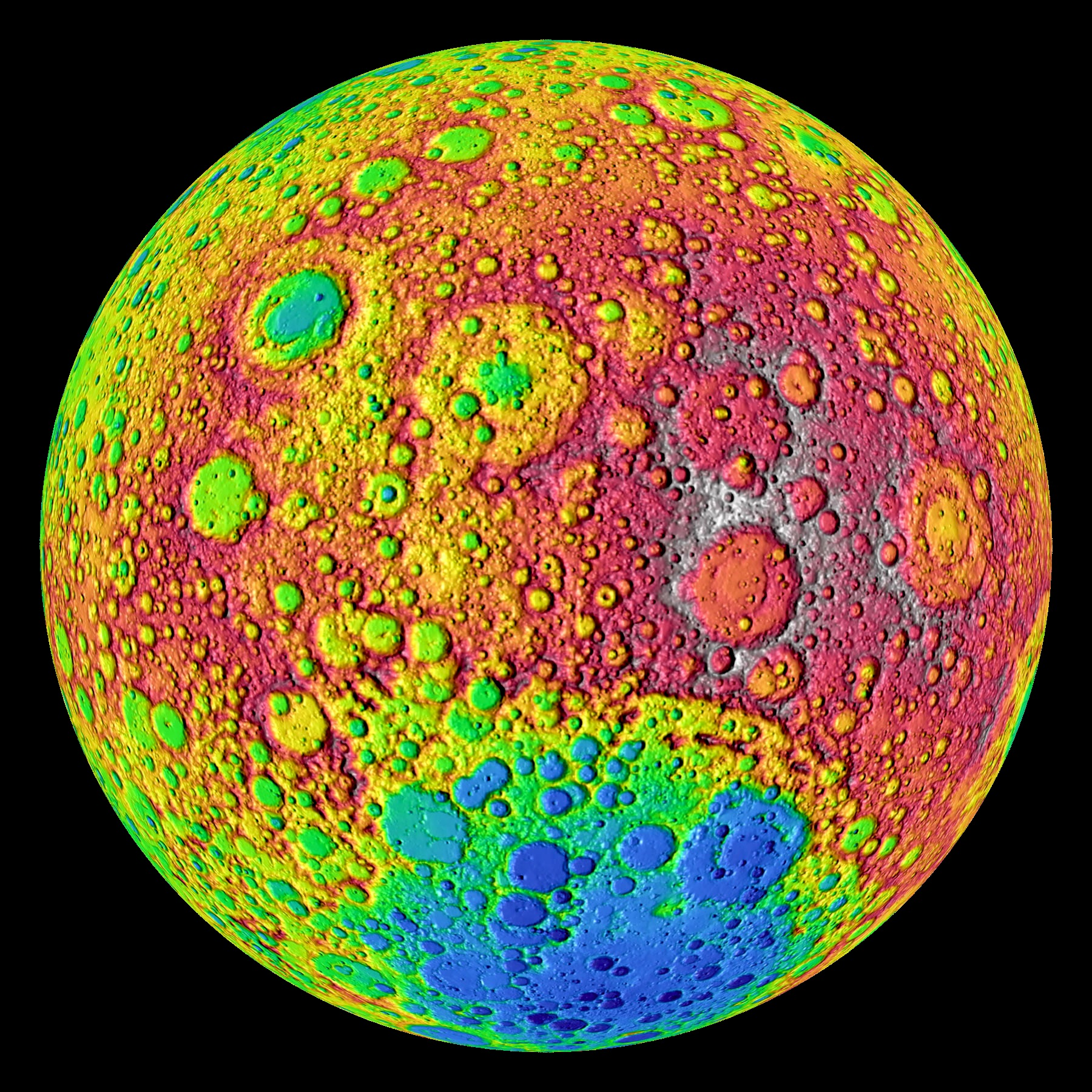 NASA - Ten Cool Things Seen in the First Year of LRO