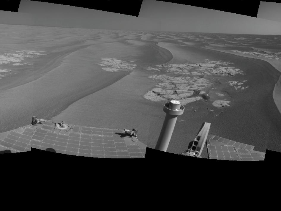 Opportunity's Surroundings After Sol 2220 Drive