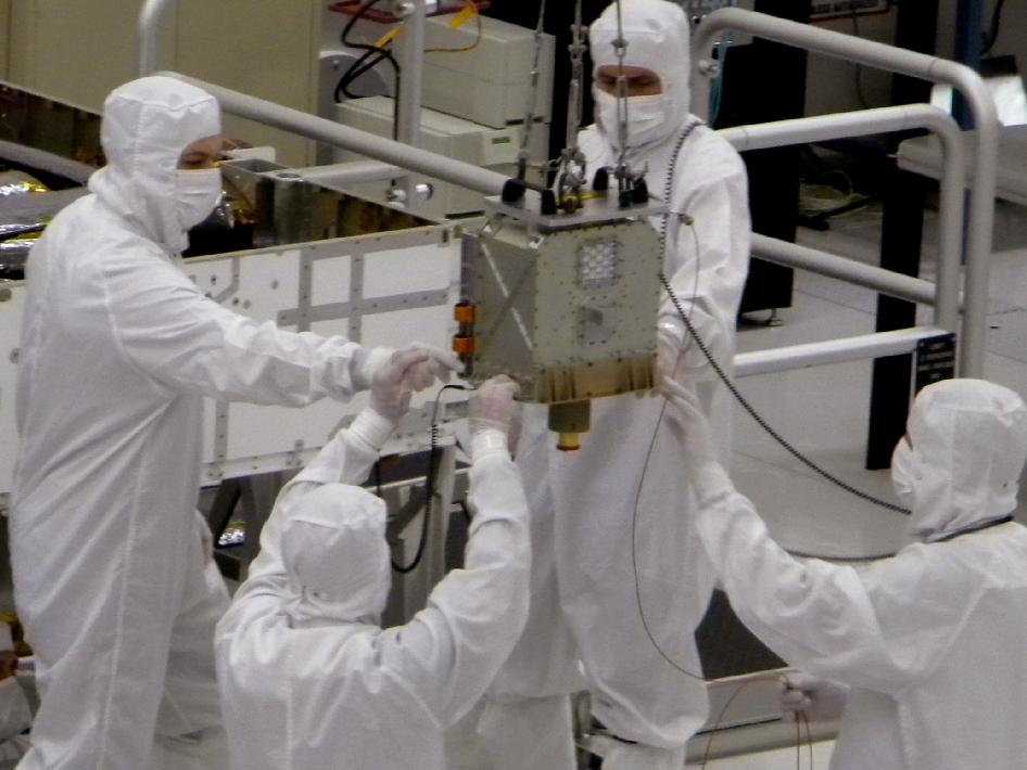 Members of NASA's Mars Science Laboratory team
