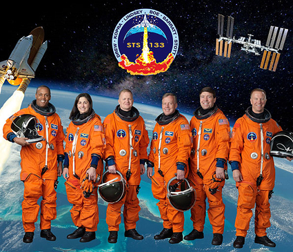 STS133-S-002 -- STS-133 crew