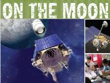 Graphic for On to the Moon educational publication