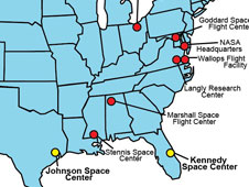 Imipact of NASA Center Locations