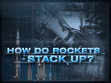 How do rockets stack up