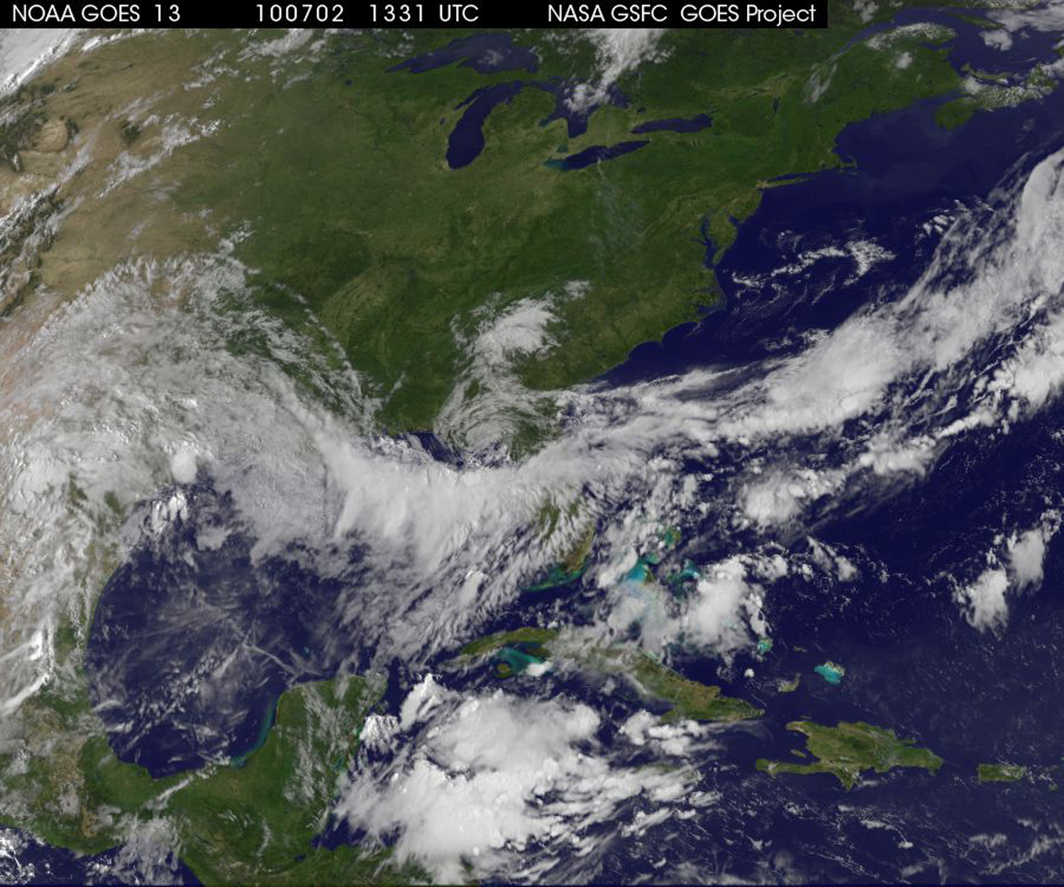 NASA See Whats Brewing In Hurricane Alleys Live Online On - World satellite map live online