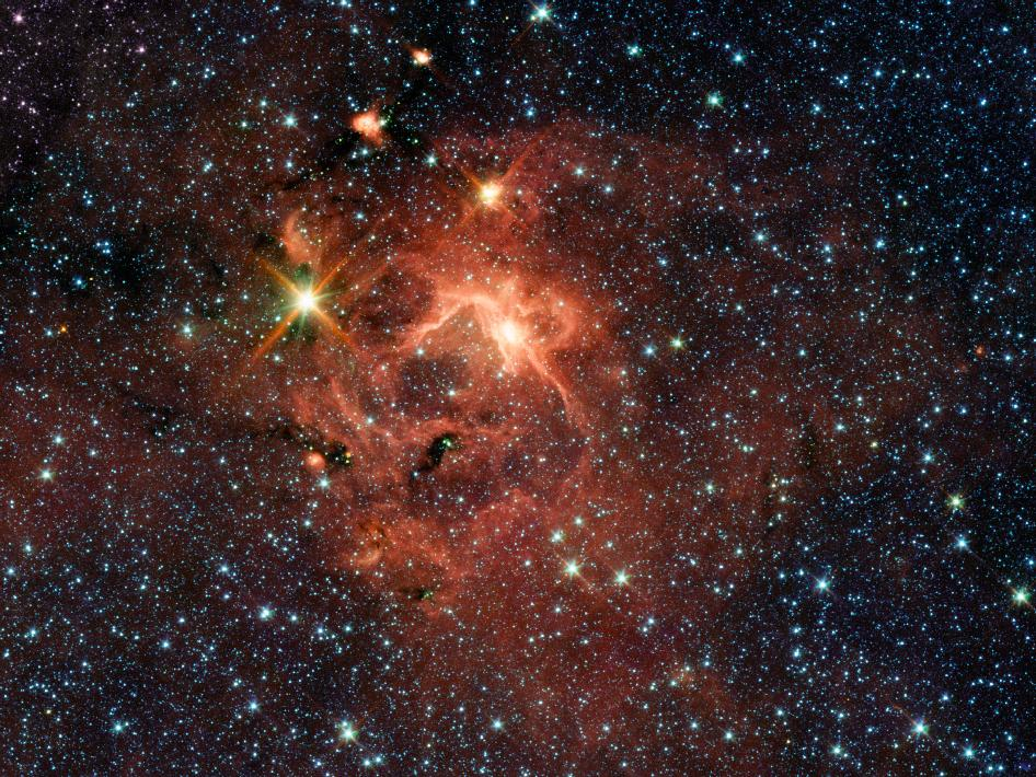 Massive Young Star and Its Cradle