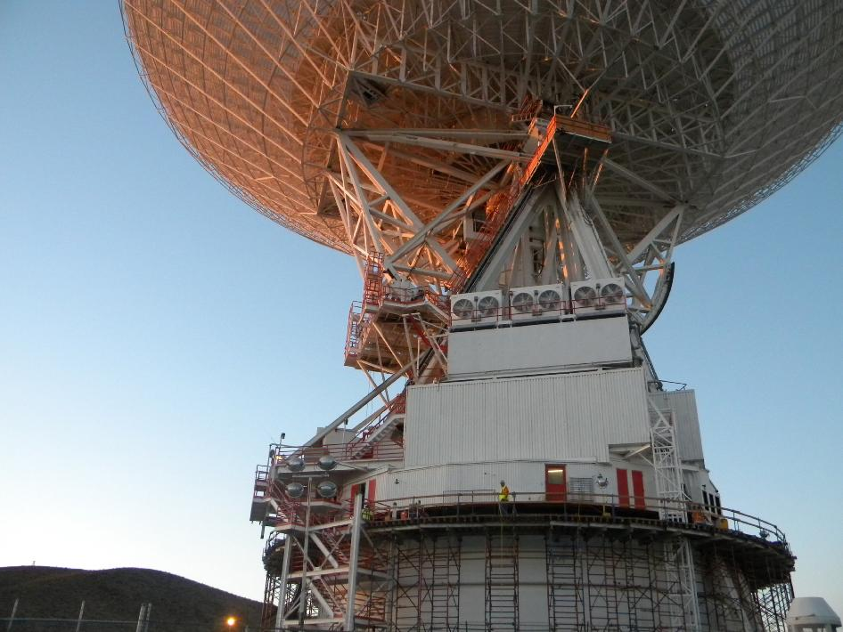 NASA's Deep Space Network communications site in Goldstone, Calif.