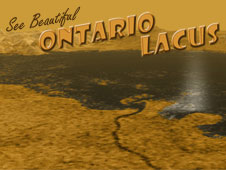 Artist composition - See beautiful Ontario Lacus