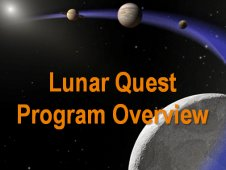 Lunar Quest program overview graphic