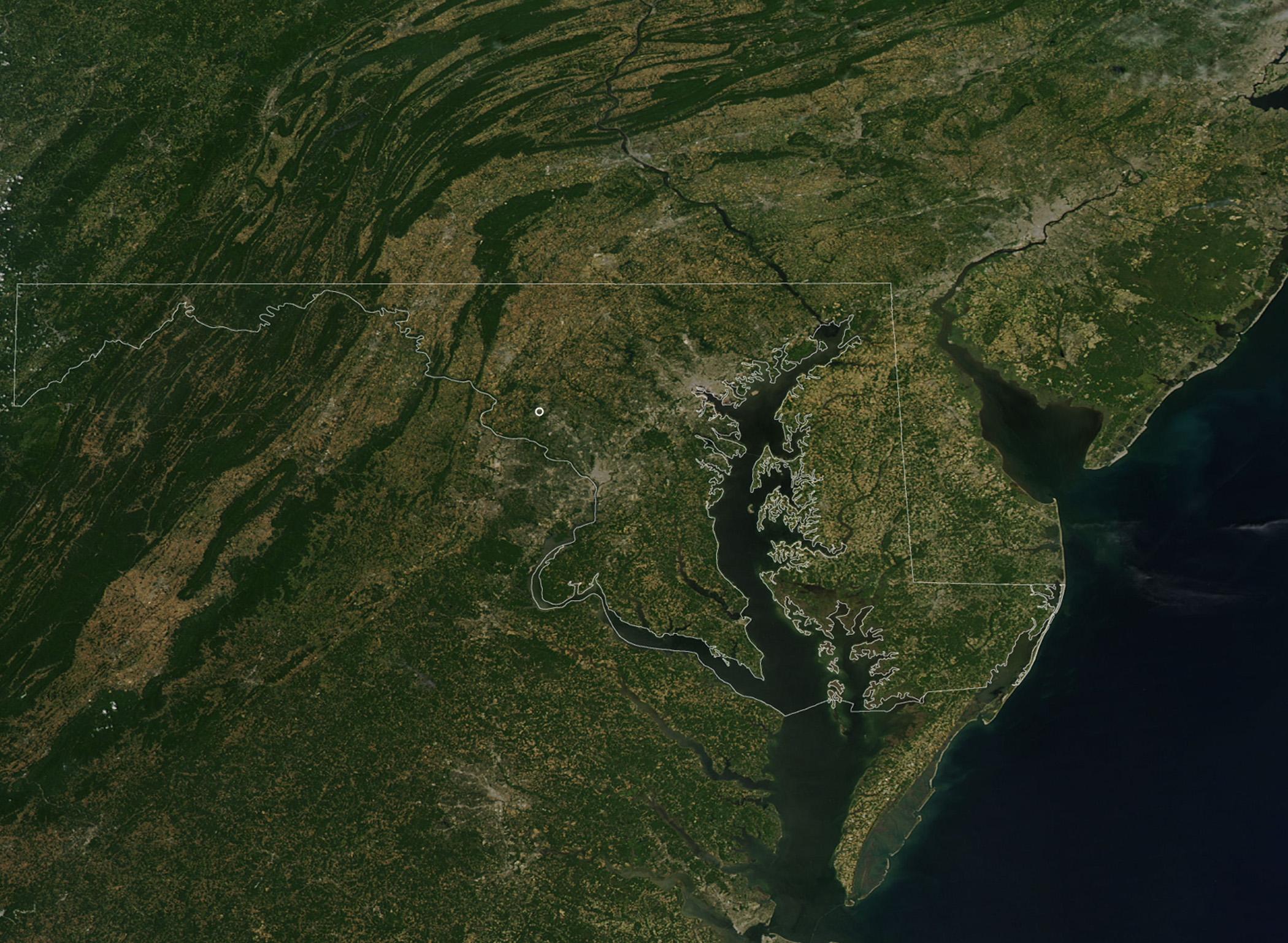 NASA NASA Goddard Felt July  Quake - Washington dc earthquake map